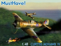 MUSTHAVE! MH148001 Curtiss Mohawk IV