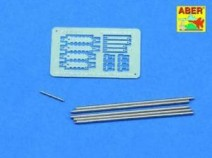 Aber R-41 1/35 Barrel cleaning rods with brackets for Tiger I Tunisia