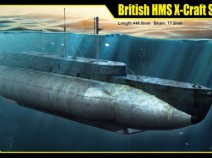 Merit 63504 1/35 British HMS X-Craft Submarine