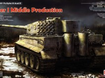 Rye Field Models RM-5010 1/35 Sd.Kfz. 181 Pz.kpfw.VI Ausf. E Tiger I Middle Production W/ Full Interior