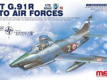 MENG DS-004s 1/72 FIAT G.91 R NATO AIR FORCES