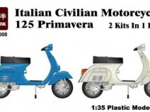 Diopark DP35008 Italian civil motorcycles Vespa 2 шт (1:35)