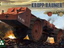 Takom 2053 1/35 WWII German Super Heavy Mine Cleaning Vehicle Krupp Raumer S
