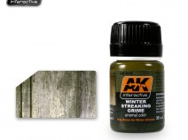 AK-Interactive AK-014 STREAKING GRIME FOR WINTER VEHICLES