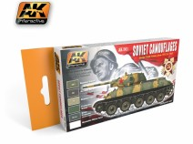 AK-Interactive AK-561 SOVIET CAMOUFLAGES COLORS SET