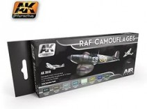 AK-Interactive AK-2010 RAF CAMOUFLAGES COLORS SET