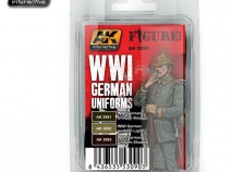 AK-Interactive AK-3090 WWI GERMAN UNIFORMS