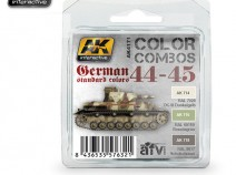 AK-Interactive AK-4171 GERMAN STANDARD 1944-45 COLOR COMBO