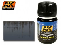 AK-Interactive AK-069 STREAKING GRIME FOR PANZER GREY VEHICLES