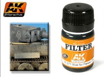 AK-Interactive AK-071 FILTER FOR PANZER GREY VEHICLES