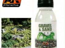 AK-Interactive AK-118 GRAVEL & SAND FIXER