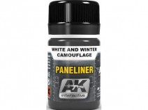 AK-Interactive AK-2073 PANELINER FOR SAND AND DESERT CAMOUFLAGE
