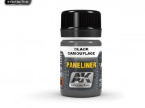 AK-Interactive AK-2075 PANELINER FOR BLACK CAMOUFLAGES