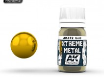 AK-Interactive AK-472 XTREME METAL GOLD