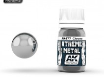 AK-Interactive AK-477 XTREME METAL CHROME