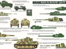 Colibri Decals 72032 Battle for Berlin 45 - Part II