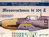 Colibri Decals 48006 Bf-109 E North