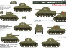 Colibri Decals 35009 M4A2 Sherman in Red Army Part I
