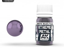 AK-Interactive AK-674 XTERME METAL METALLIC PURPLE