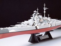 Tamiya 78013 German Bismarck Battleship 1/350