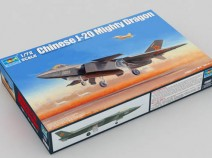 Trumpeter 01663 Chinese J-20 Mighty Dragon 1/72
