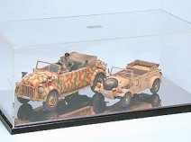 Tamiya 73008 Display Case C w/Mirror Shee
