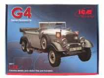ICM 24011 Typ G4 (1935 production), WWII German Personnel Car 1/24