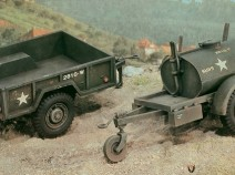 Italeri 229 Tank 250Gals and Cargo M101 Trailers 1/35