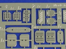 Aber 24 011 Pedals for all cars 1/24