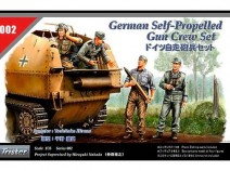 Tristar 35002 Self-propelled Gun Scale Figure Set 1/35