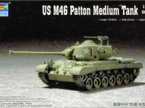 Trumpeter 07288 US M46 Patton Medium Tank 1/72