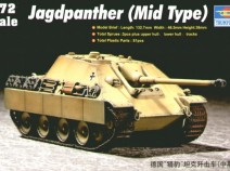 TRUMPETER 07241 JAGDPANTHER(MID) 1/72