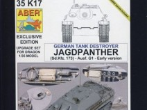 ABER 35 K17 Jagdpanther (Sd.Kfz.173) Ausf.G1 Early Version 1/35