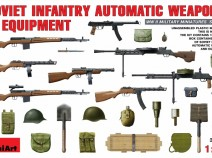 MiniArt 35154 SOVIET  INFANTRY  AUTAMATIC  WEAPONS  AND  EQUIPMENT
