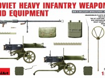 MiniArt 35170 SOVIET  HEAVY  INFANTRY  WEAPONS  AND  EQUIPMENT