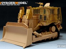 VOYAGER PE35604 Modern IDF D9R Armored BullDozer w/slat armour (FOR MENG SS-002) 1/35