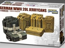 Great Wall Hobby L3514 German 20L Jerrycans 1/35