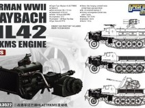 Great Wall Hobby L3522 Maybach HL42 TRKMS engine for sWS 1/35