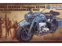Great Wall Hobby L3524 Zundapp KS750 1/35