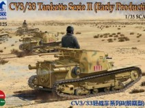 Bronco CB35125 1/35 CV3/33 Tankette Serie II (Early Production)