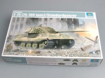 Trumpeter 01538 German E-75 (75-100 tons)/Standardpanzer, 1/35