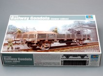 Trumpeter 01518 German Railway Gondola (Lower sides), 1/35