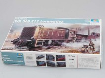 Trumpeter 00216 German WR 360 C12 Locomotive, 1/35
