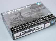 Trumpeter 00213 German Railway Track Set, 1/35