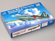 Trumpeter 02830 Soviet MiG-3 Early Version, 1/48