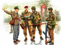 MasterBox MB3533 British Paratroopers WWII Kit1 1/35Masterbox MB3533 British Paratroopers WWII Kit1, 1/35