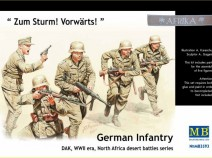 MasterBox MB3593 German Infantry DAK WWII North Africa 1/35