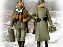 MasterBox MB3553 German Soldiers Suppliers at Last, 1/35