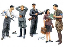 MasterBox MB3551 French Resistance Maquis, 1/35