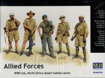 MasterBox MB3594 Allied Forces: WWII era - North African Desert, 1:35
